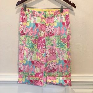 Lilly Pulitzer Palm Beach Fit Board Shorts Size 0
